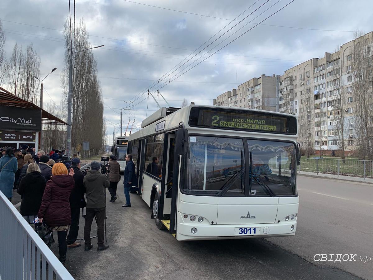 Для запуска троллейбуса вокруг Намыва не хватает решения сессии об оплате долга перед «облэнерго»