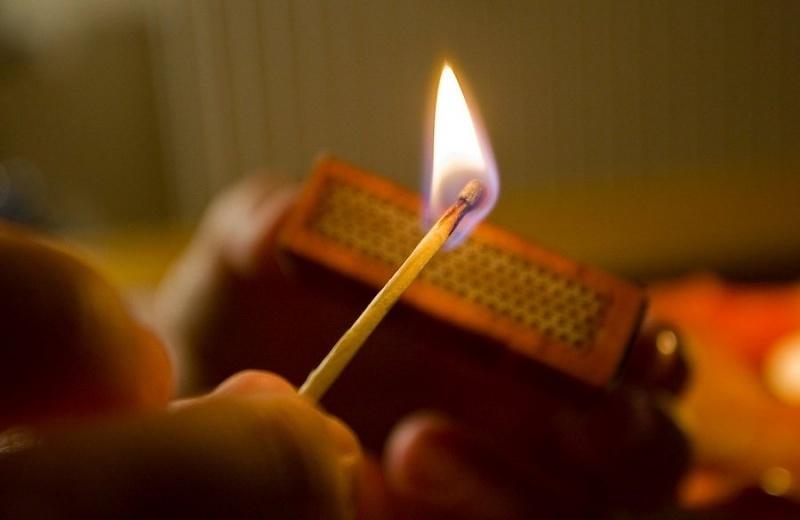 На Николаевщине в 4,5 раза увеличилось количество пожаров из-за детских шалостей с огнем