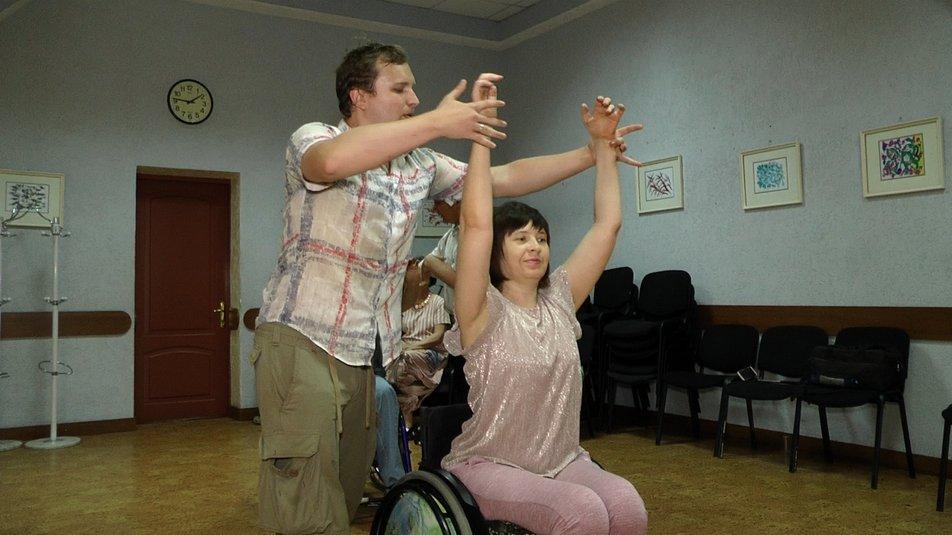В Николаеве люди с инвалидностью потанцевали с восьмикратной чемпионкой Европы