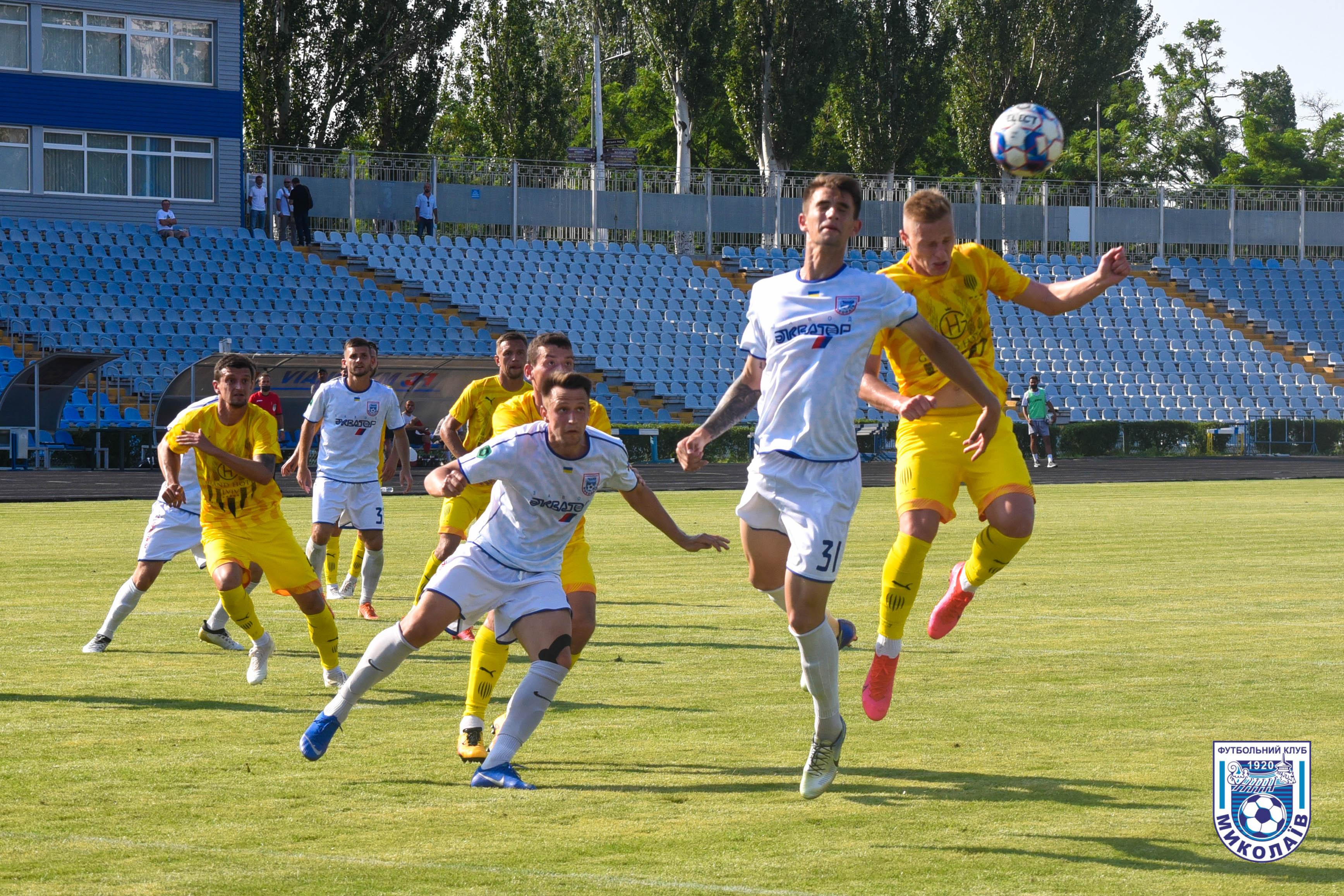 МФК «Николаев» разошелся ничьей с «Рухом»