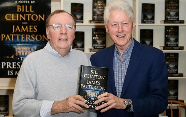 Билл Клинтон выпустит детективный роман