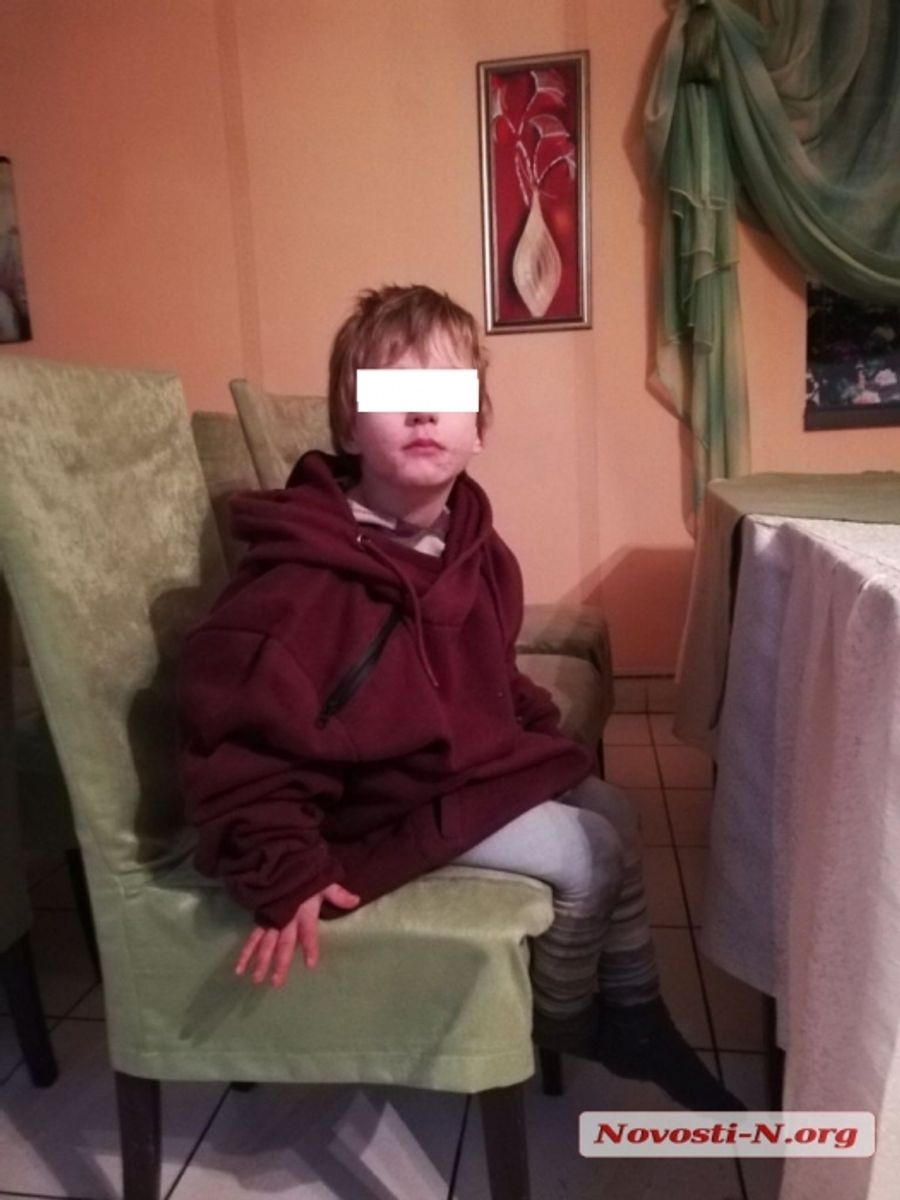 В центре Николаева найден ребёнок — мальчик не может назвать даже своего имени
