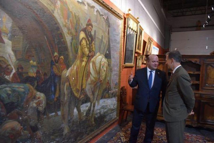 Украине подарили уникальную картину, вывезенную нацистами.