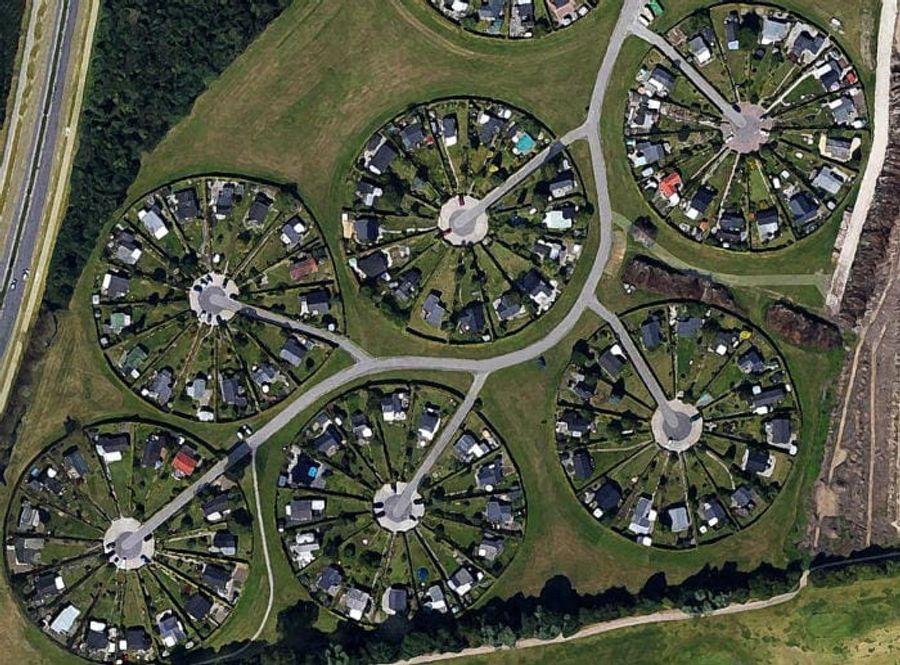 Уникальный город-сад, построенный возле Копенгагена. Фото