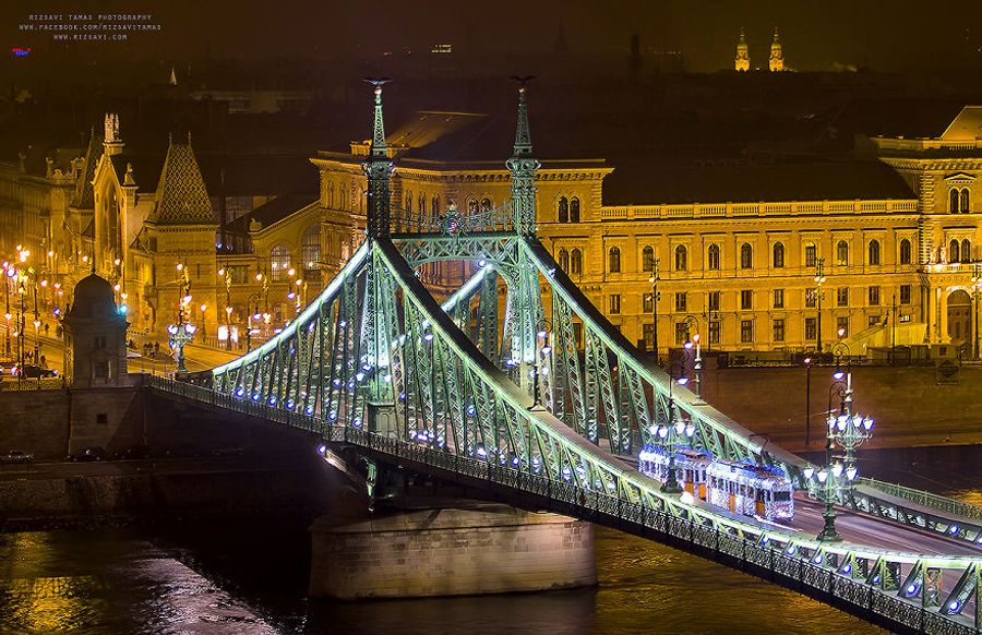 Магические фотографии Будапешта перед Рождеством.