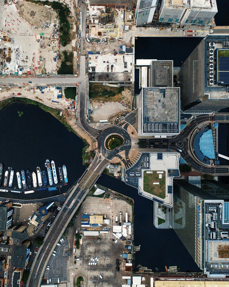 Захватывающие пейзажи и архитектура на аэрофотоснимках Уилла Чейни