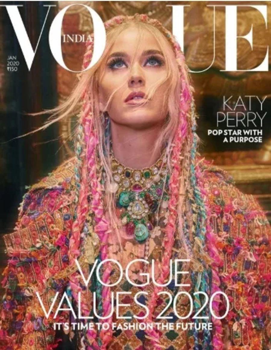 Кэти Перри снялась для индийского Vogue