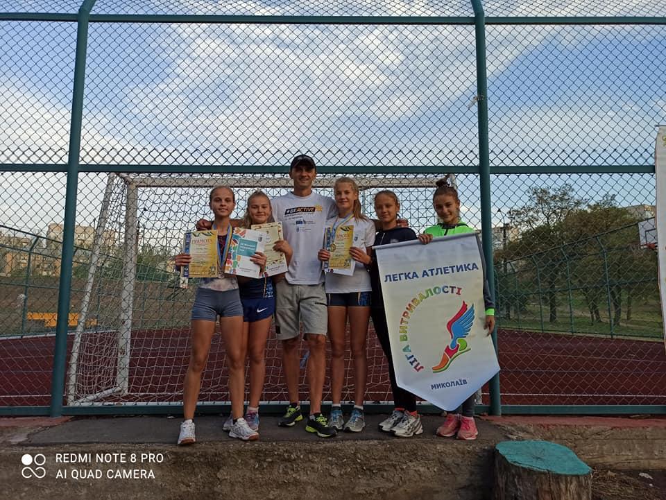 Спортсмены Николаевщины приняли участие в трехдневном легкоатлетическом фестивале